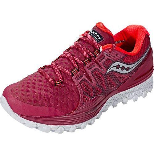 Saucony xodus iso 2 buty do biegania kobiety czerwony us 7 | eu 38 2017 szosowe buty do biegania (0883799355571)
