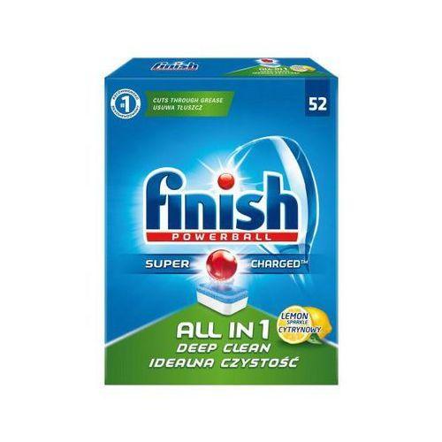 Finish finish tabletki do zmywarki all in 1 52 szt. cytrynowe marki Reckitt benckiser