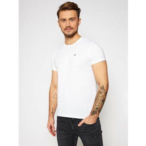 Koszulka Tommy Jeans T-shirt Męski Biały, 2D76-12506