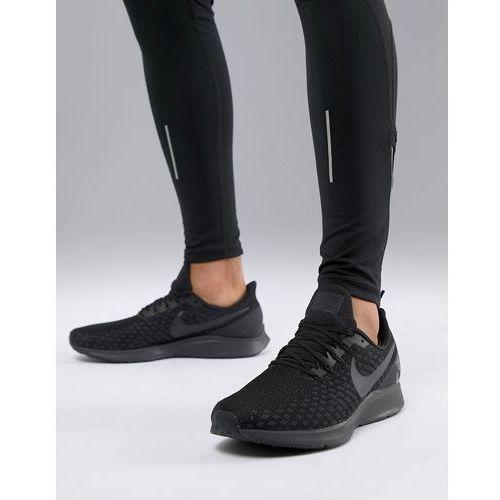Nike running air zoom 35 pegasus trainers in triple black 942851-002 - black