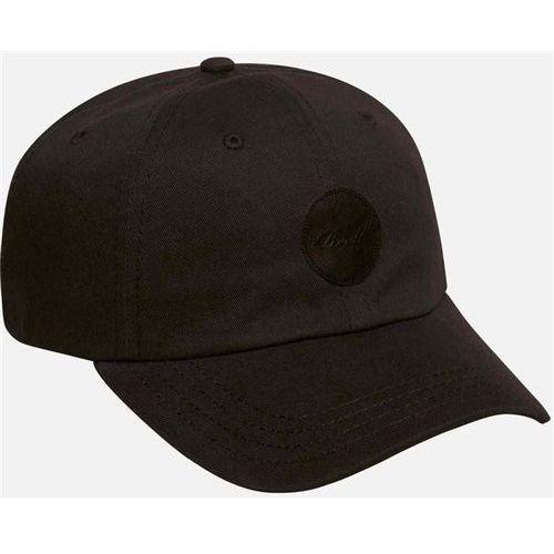 Reell Czapka z daszkiem - dad cap cotton twill black (black)