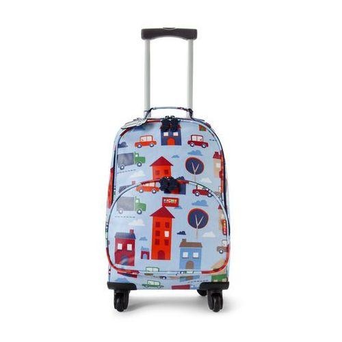 f0749f5fa1d0d OKAZJA - Penny Scallan Design, walizka na czterech kółkach, błękitna w  autka ...