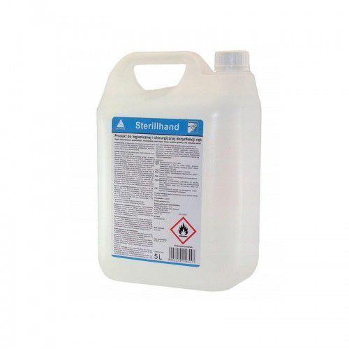 Płyn antybakteryjny do chirurgicznej dezynfekcji rąk bez użycia wody 5L 72% alkoholu SterillHand
