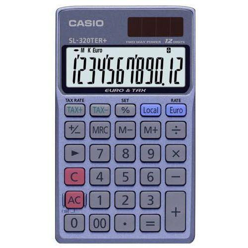 Casio kalkulator kieszonkowy sl-320ter+