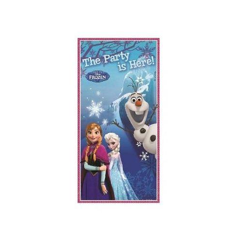 Dekoracja foliowa na drzwi Frozen - Kraina Lodu - 152 x 76 cm - 1 szt., towar z kategorii: Dekoracje i ozdoby dla dzieci