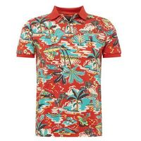 POLO RALPH LAUREN Koszulka 'SSKCCMSL M1-SHORT SLEEVE-KNIT' mieszane kolory / czerwony