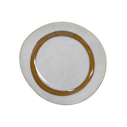 Hk living talerz ceramiczny 70's: śnieg ace6761 (8718921024532)