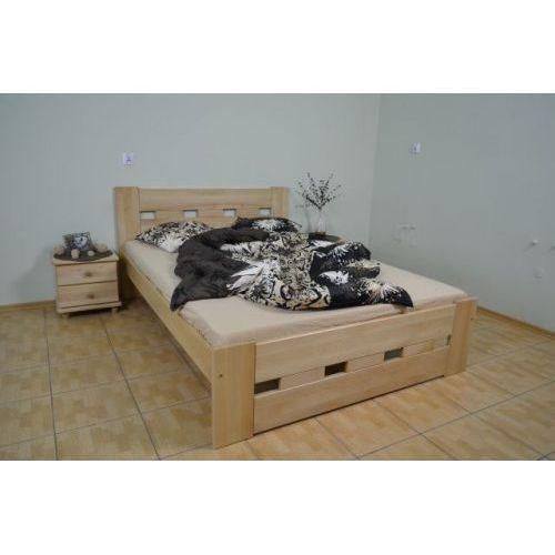 Łóżko z drewna bukowego Prostokąt 140x200
