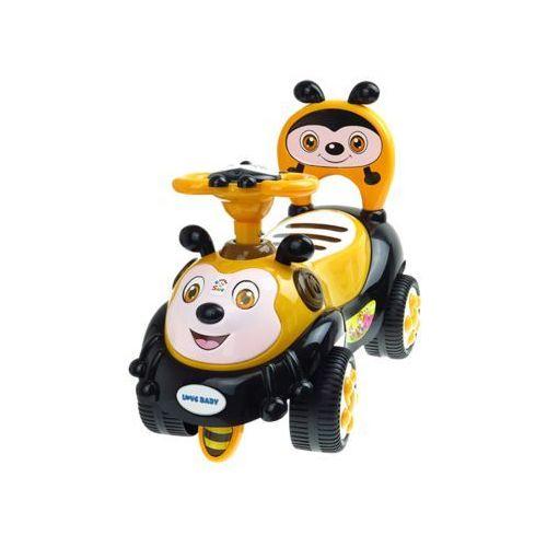 Jeździk dla dzieci pszczółka KINDERSAFE 7625 ŻÓŁTY (5902921969761)