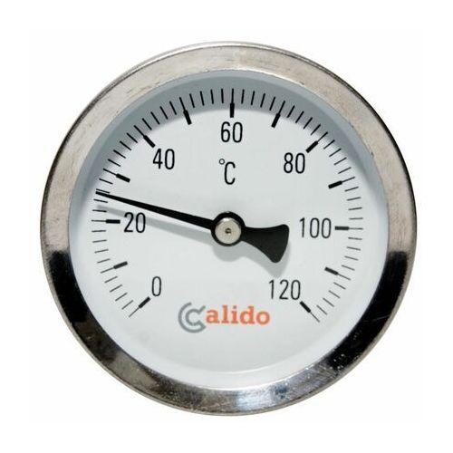 Termometr bimetaliczny przylgowy 63 mm CALIDO (5902557276110)