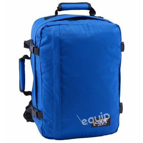 Plecak torba podręczna CabinZero 36l + pokrowiec organizer gratis - royal blue, kolor niebieski