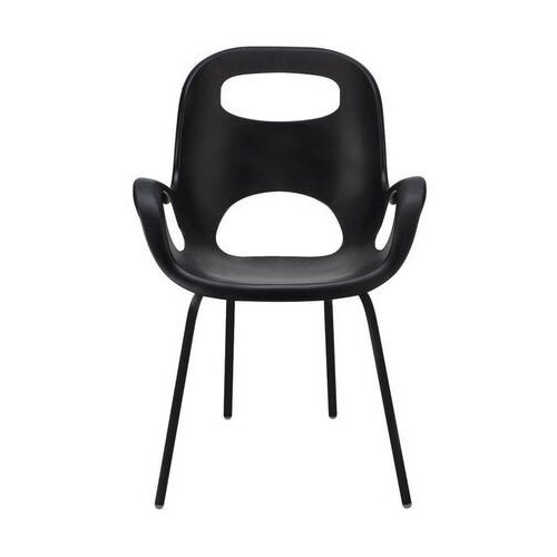 - 2 krzesła oh chair - czarne - czarny marki Umbra