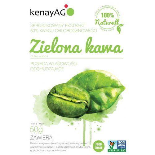 Sproszkowany ekstrakt z ZIELONEJ KAWY (50% kwasu chlorogenowego) 50g