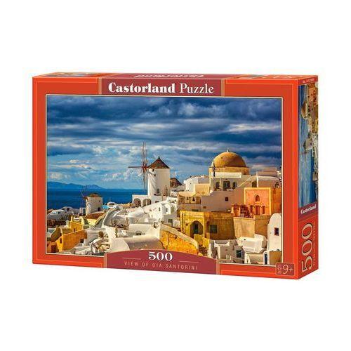 Castor Puzzle 500 el.:view of oia santorini - od 24,99zł darmowa dostawa kiosk ruchu