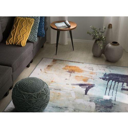 Dywan kolorowy 140 x 200 cm krótkowłosy adapazari marki Beliani