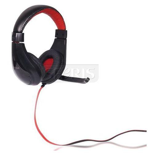 4World Słuchawki nauszne z mikrofonem 4World 09964 (Czarny)