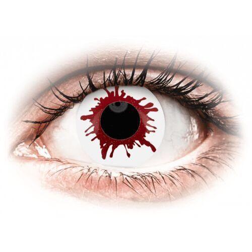 ColourVUE Crazy Lens - Wild Blood - jednodniowe zerówki (2 soczewki)