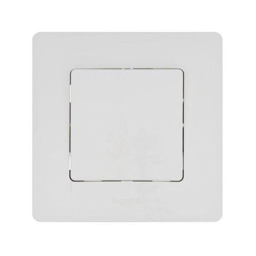 Przycisk pojedynczy niloe komplet biały marki Legrand