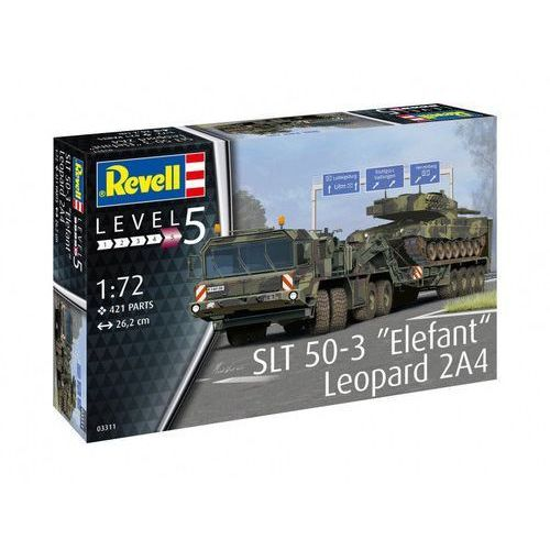 Revell Model plastikowy slt 50-3 elefant leopard 2a4