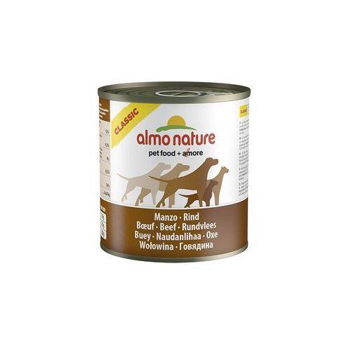 Almo nature  classic dog beef (wołowina) - puszka 280g