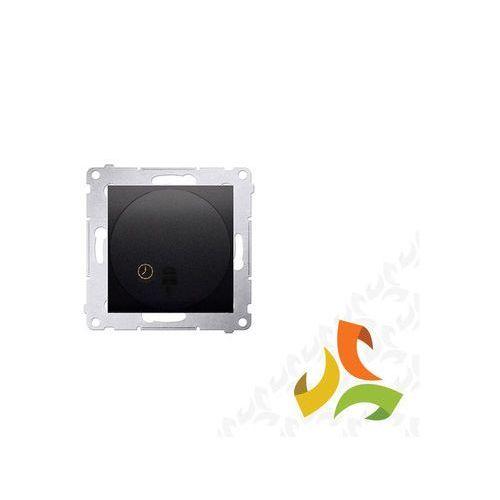 Wyłącznik czasowy tranzystorowy antracyt, opóźnienie wyłączenia od 30 sek. do 99 min. DWC10T.01/48 SIMON 54 PREMIUM