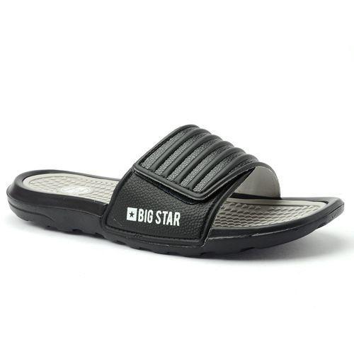 Klapki piankowe Big Star AA174414 czarne