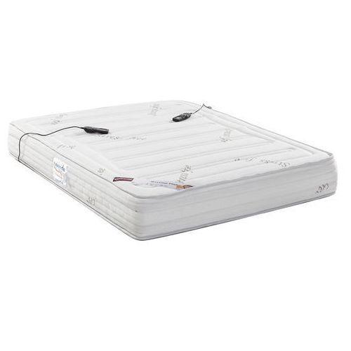Materac masujący z warstwą komfortu z pamięcią kształtu marki DREAMEA PLAY - 160 × 200 cm