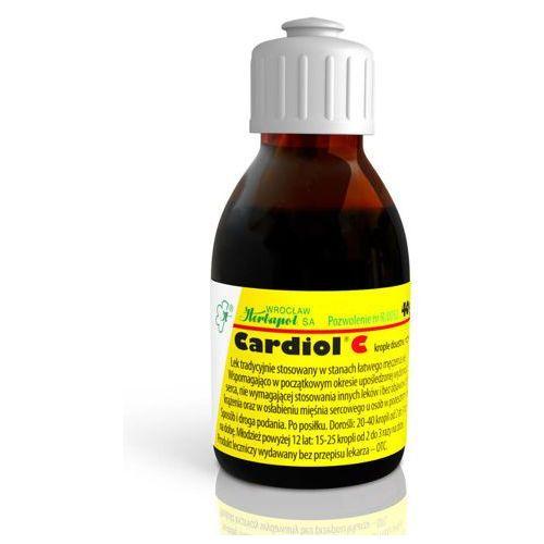 Cardiol c krople 40g marki Herbapol wrocław