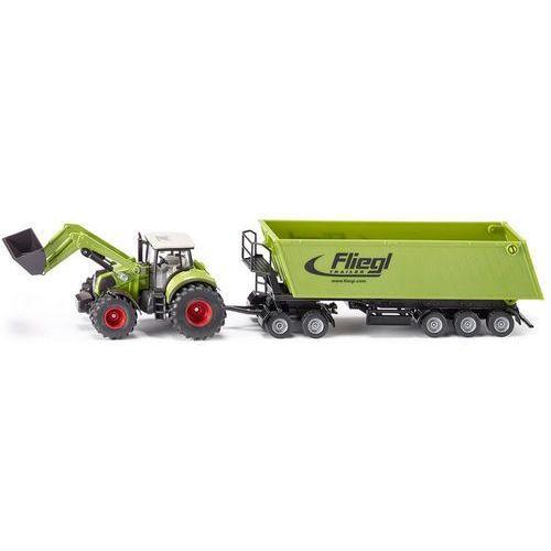 farmer traktor z ladowarka wywrotka dolly marki Siku