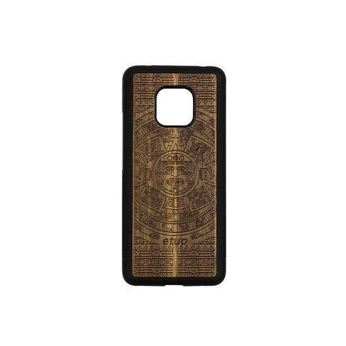 Etuo wood case Huawei mate 20 pro - etui na telefon wood case - kalendarz aztecki - limba