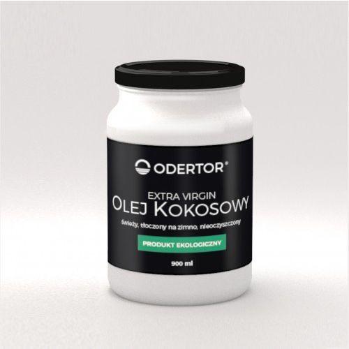 Olej kokosowy bio 900 ml pachnący extra virgin nierafinowany marki Odertor manufaktura