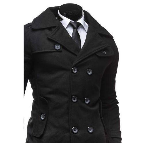 Gdzie tanio kupić? Century Czarny płaszcz męski zimowy