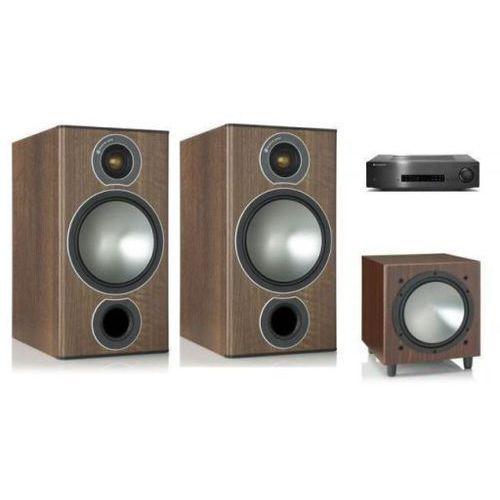 Zestawy Cambridge audio cxa60 + monitor audio bronze 2 + w10