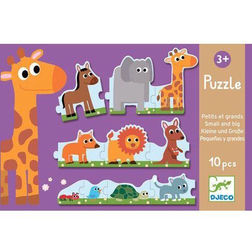 Puzzle Djeco małe i duże zwierzątka DJ08167