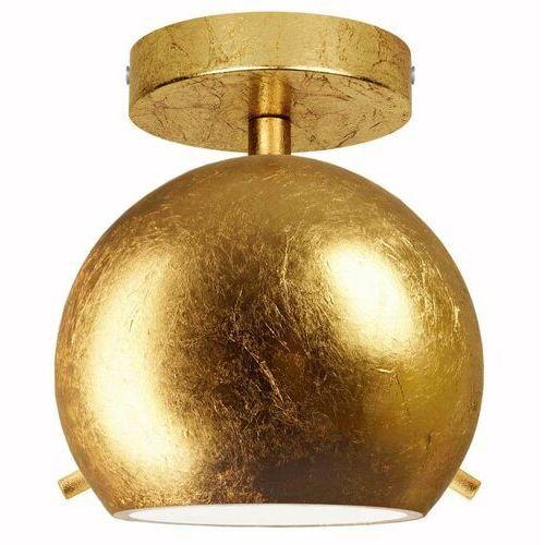 Lampa sufitowa myoo 5902429630477 loftowa oprawa szklana kula ball złota marki Sotto luce