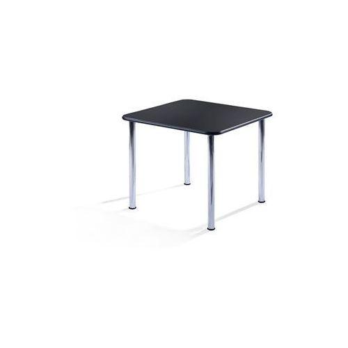 Friwa sitzmöbel Stół konferencyjny, wys. 720 mm, kwadratowe, 900x900 mm, szkielet chromowany, bl