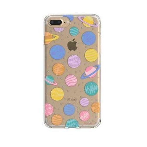 Etui iplate happy planets do apple iphone 6 plus/7 plus/6s plus/8 plus wielokolorowy (30011) marki Flavr