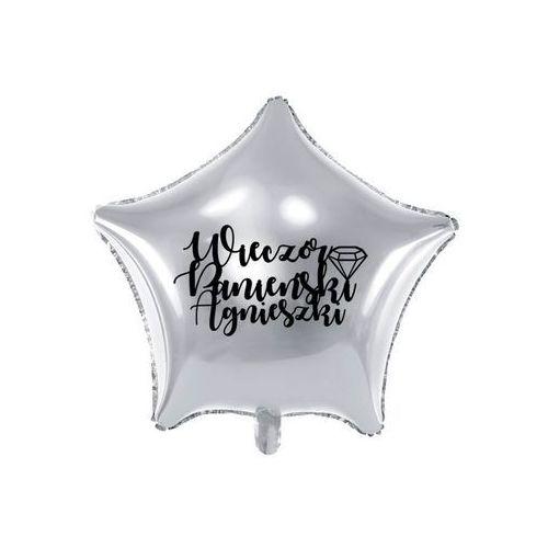 Balon foliowy gwiazdka personalizowany na wieczór panieński - 48 cm - 1 szt. marki Party deco