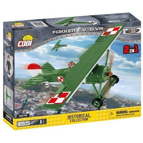 Klocki COBI Mała armia 2976 Fokker E.V (D.VIII) - samolot myśliwski