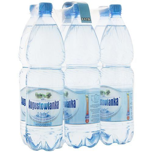 AUGUSTOWIANKA 6x1,5l Naturalna woda mineralna niegazowana | DARMOWA DOSTAWA OD 150 ZŁ! (napój)