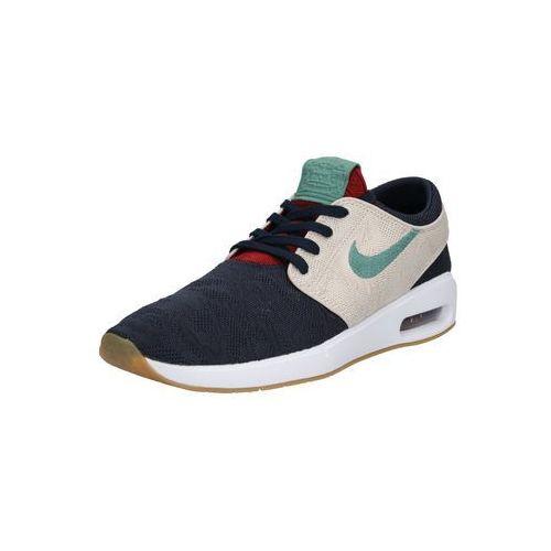 Nike SB Trampki niskie 'Nike SB Air Max Janoski 2' beżowy / ciemny niebieski / zielony, kolor zielony