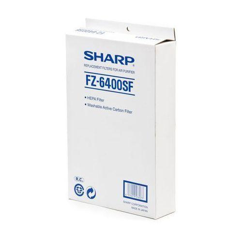 FZ-6400SF Sharp, Zestaw filtrów HEPA + węglowy do modelu KC-6400E Gwarancja 24M SHARP. Zadzwoń 887 697 697. Atrakcyjne Raty, FZ6400SF