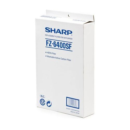 Fz-6400sf , zestaw filtrów hepa + węglowy do modelu kc-6400e fz6400sf gwarancja 24m sharp. zadzwoń 887 697 697. atrakcyjne raty marki Sharp
