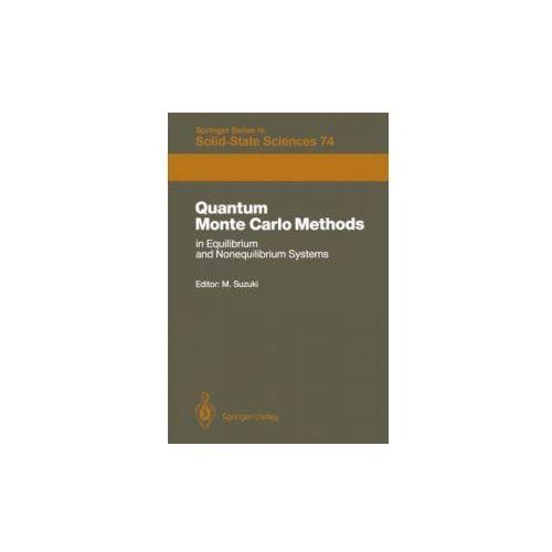 Quantum Monte Carlo Methods in Equilibrium and Nonequilibrium Systems (9783642831560)