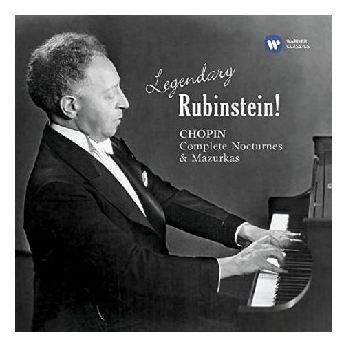 Legendary rubinstein - chopin - rubinstein (płyta cd) marki Warner music