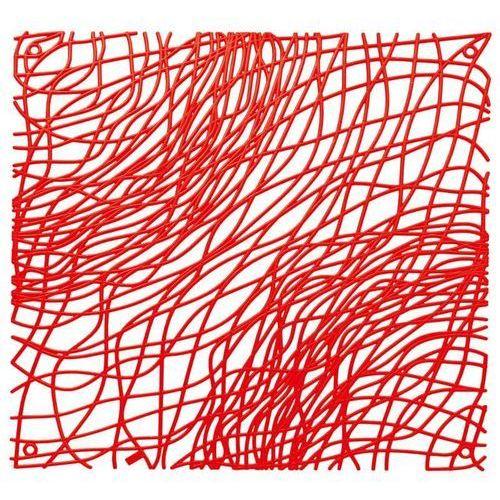 Panel Dekoracyjny SILK - czerwony - Czerwony