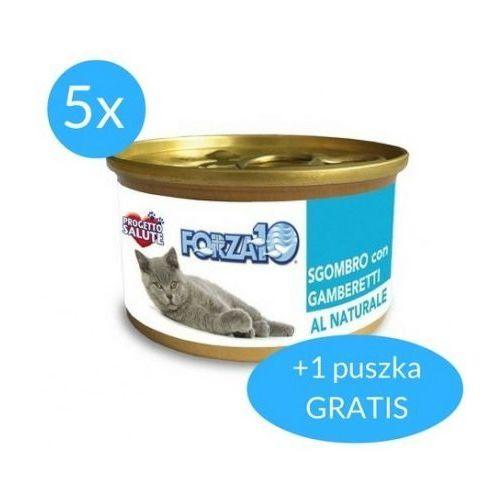 Forza10 Maintenance dla kota 75g: smak - makrela z krewetkami DOSTAWA 24h GRATIS od 99zł