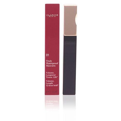 Clarins  truly waterproof mascara 7ml w tusz do rzęs 01 intense black