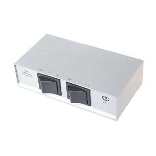 B-tech bt12 głośnik/s. dzięki temu mac pro nigdy nie każe przełącznik wyboru z zaciskami śrubowymi (2-kanałowy) srebrny (5019318021206)