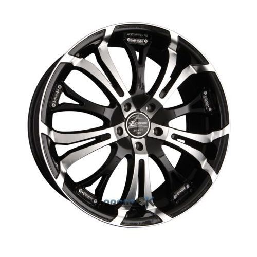 tzunamee matt black polished einteilig 9.00 x 20 et 30 marki Barracuda